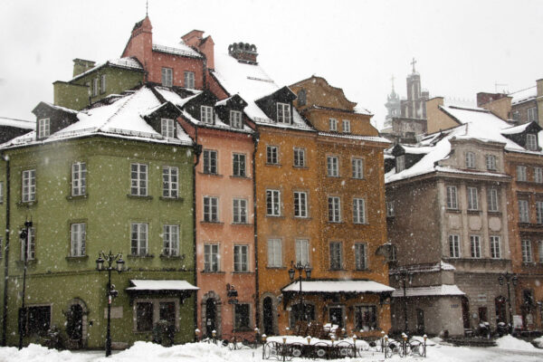 warsaw in winter
