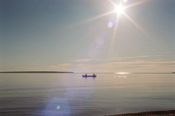 lake superior by canoe